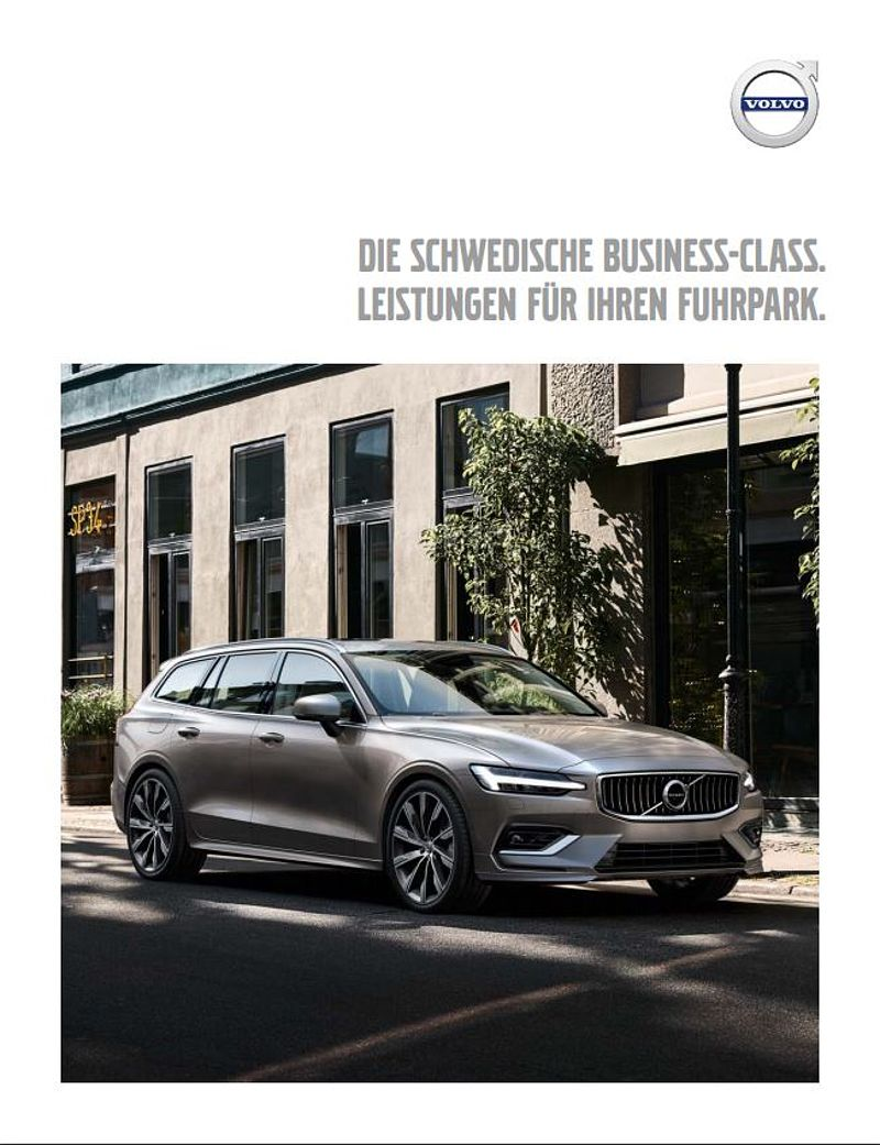Volvo Fleet Folder (Modelljahr 2018)